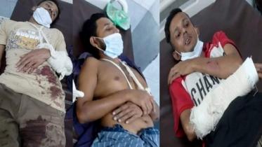 হবিগঞ্জে জমি নিয়ে বিরোধে ৫ ভাইকে কুপিয়ে আহত