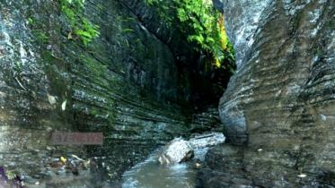 'লাসুবন'- শ্রীমঙ্গলে প্রাচীন গিরিখাতেরসন্ধান!