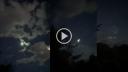 উল্কা ফেটে যাওয়ার মহাজাগতিক দৃশ্য