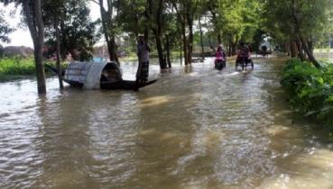 জামালপুরে আরো একটি নিম্নাঞ্চল প্লাবিত