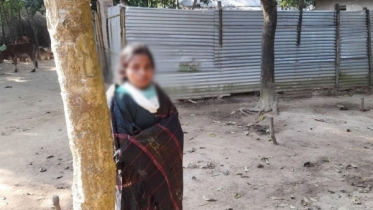 কমলগঞ্জে বিয়ের দাবিতে প্রেমিকের বাড়িতে প্রেমিকার অনশন