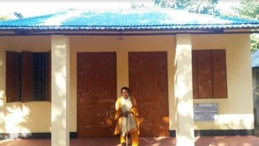 প্রধানমন্ত্রীর দেওয়া বাড়িতে উঠলেন কমলগঞ্জের শুকুর মনি