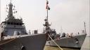 মোংলায় পৌঁছেছে  ভারতীয় দুই যুদ্ধ জাহাজ