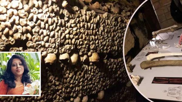মানবদেহের কংকালের বিশাল সংগ্রহ `Catacombs of Paris`