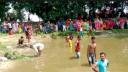 ঠাকুরগাঁওয়ের ঐতিহ্যবাহী হাঁস ধরা খেলা অনুষ্ঠিত