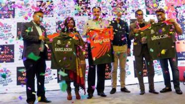 টাইগারদের টি-২০ বিশ্বকাপ জার্সি উন্মোচন