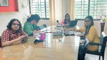 আটকে থাকা সেমিস্টার ফাইনাল অনলাইনে নিয়েছে কুবির ইংরেজি বিভাগ